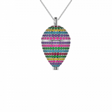 Sterling Silver Poise Pendant