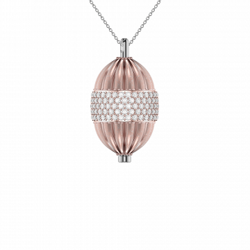 Rose Gold Vermeil Poise Pendant